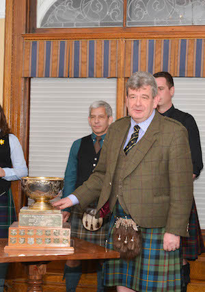 Colin MacLellan presents a history of the Glengarry Cup