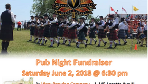 Ottawa Highlanders Pipes & Drums: Pub Night Fundraiser