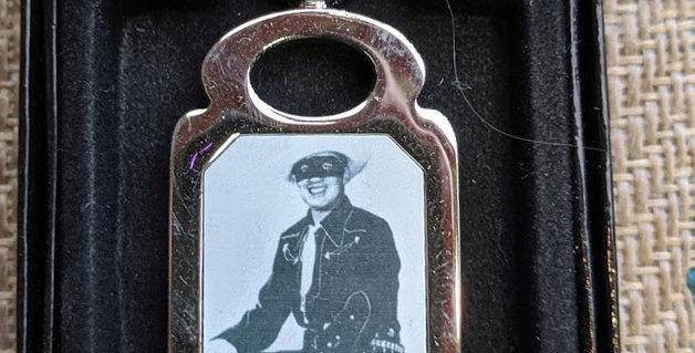 Brace Beemer The Lone Ranger Key Chain