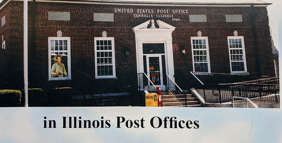 Let's Look for Lincoln in U. S. Post Offices