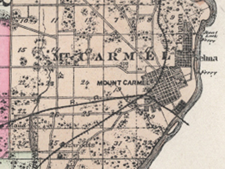 Mt. Carmel Precinct and Its First Settlers