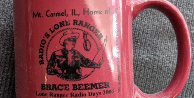 2004 Lone Ranger Radio Days Mug
