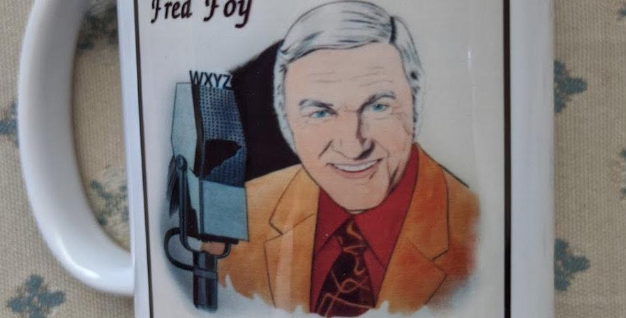 Don Sherwood Art Mug:  Lone Ranger and Fred Foy
