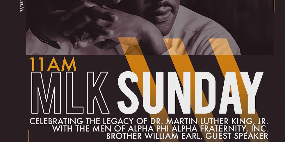 Rev. Dr. Martin Luther King, Jr. Sunday