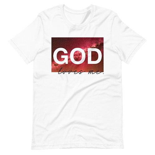 GOD LOVES ME TEE