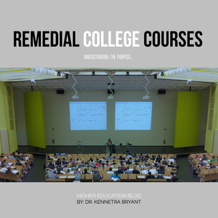 College Remedial Courses