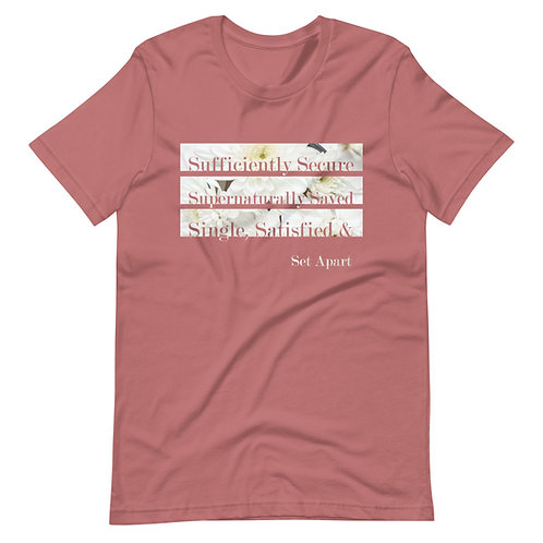 SUFFICIENTLY SECURE & SET APART TEE