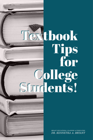 Textbook Tips for College Students