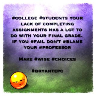 College Success Tip #6