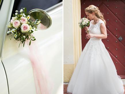 Eine Hochzeit in zarten Farben