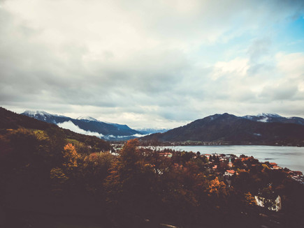 Herbsthochzeit am Tegernsee
