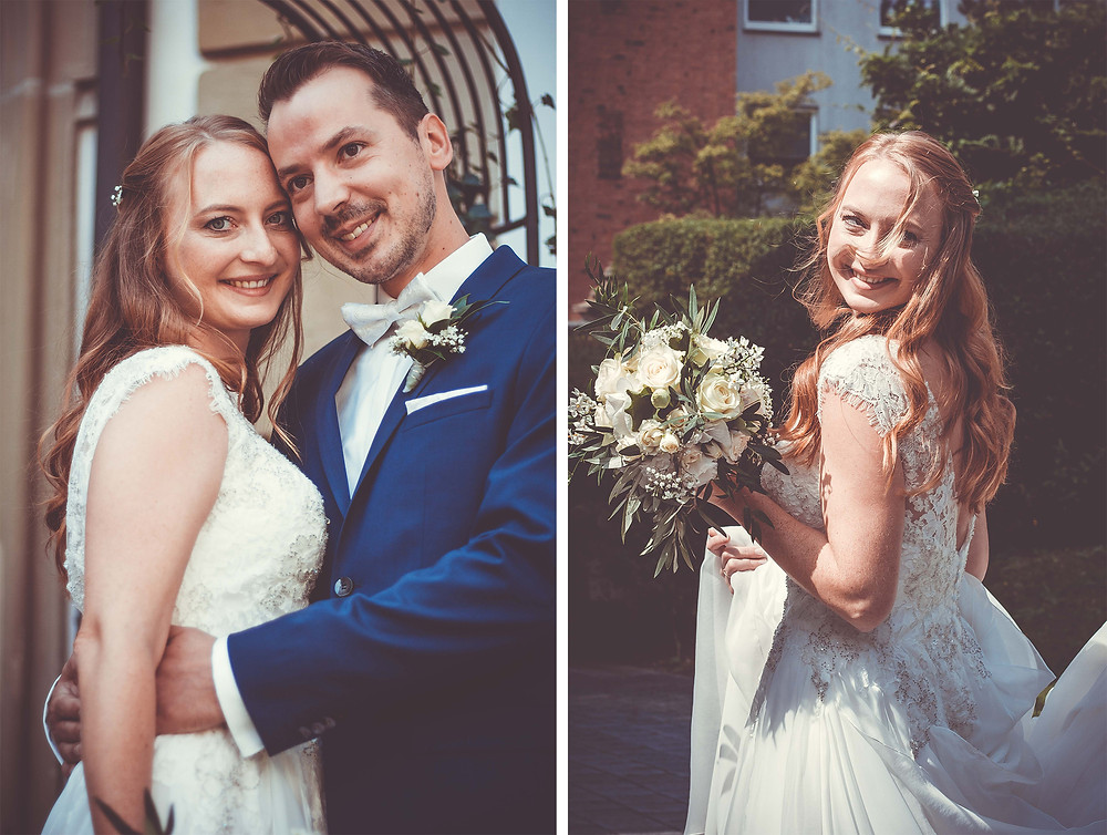 Hochzeit in Nürnberg - Brautpaar Shooting