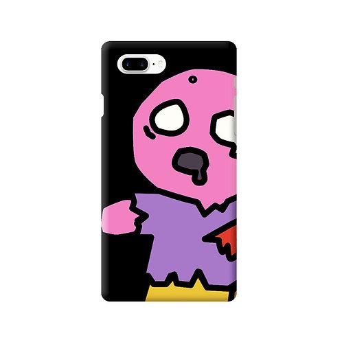 ゾンビスナック iPhoneケース ピンク