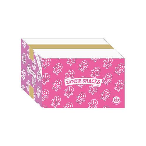 【ケース販売】ゾンビスナックⅡ ピンク&紫 エビのアヒージョ味