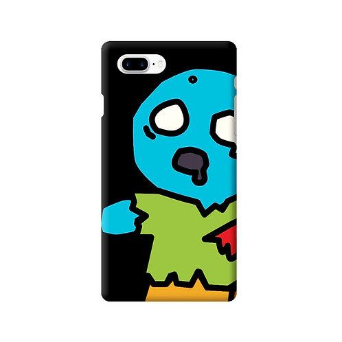 ゾンビスナック iPhoneケース ブルー