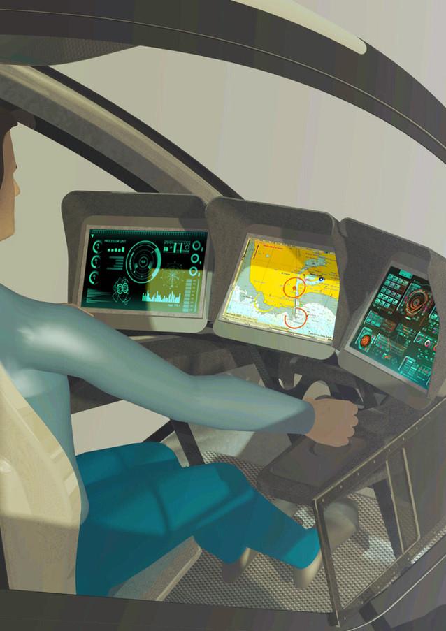 SunWave T2   Poste de pilotage
