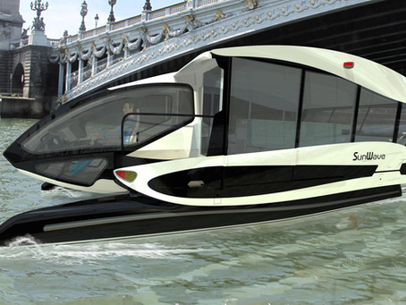 THE VERY FIRST SOLAR TAXI BOAT !