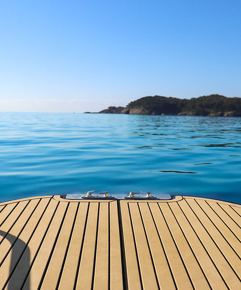 SunWave avant du bateau