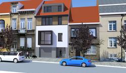 274 facade av PU