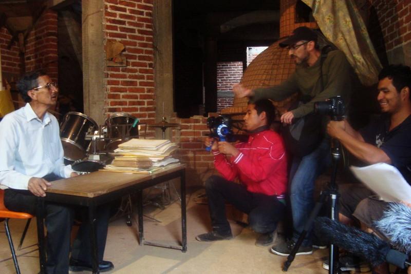 Grabación con el Maestro Don Efráin González Cruz de San Andrés, Michoacán // Filming with Master Don Efráin González Cruz from San Andres, Michoacan