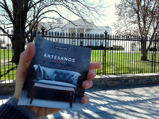 """""""Artesanos / Artisans"""" llegó a Washington, D.C."""