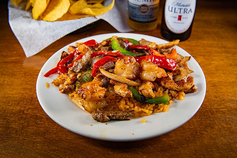 Gaby special texana with bell peppers -