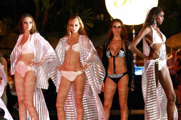 Silvian Imberg Fashion Show  at last year's party