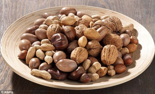Why we should all go nuts for nuts: From pecans to peanuts, they help you live longer, stave off cancer - and even improve your memory