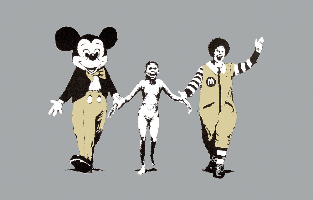 banksy-napalm-print