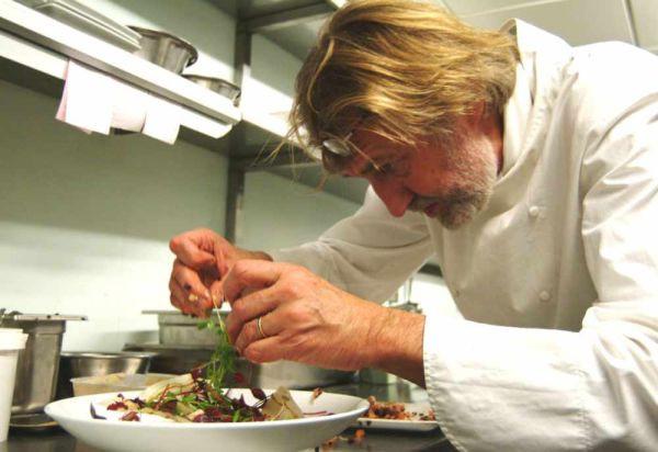 Pierre Gagniare - preparing a feast