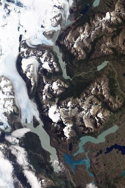 Oh wow: The Torres del Paine National Park, in Chilean Patagonia, as captured Jan. 21 by NASA¿s Earth Observing-1 (EO-1) satellite