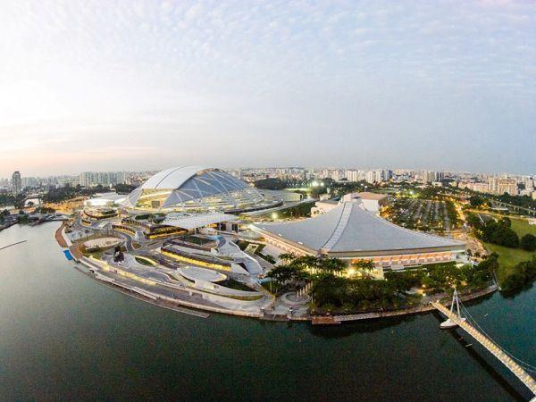 4 - Singapore Sports Hub Aerial View