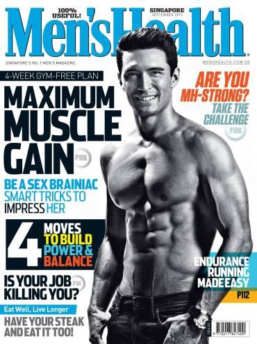 Taber's September 2013 Cover