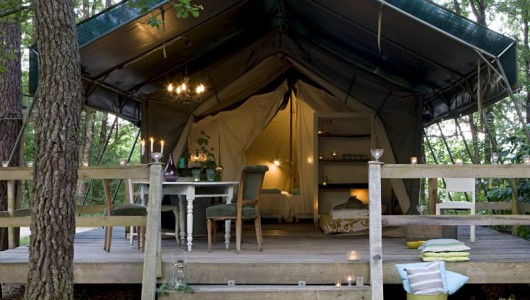 Camping and Tent Hotel, Les Ormes, FRANCE, EUROPE
