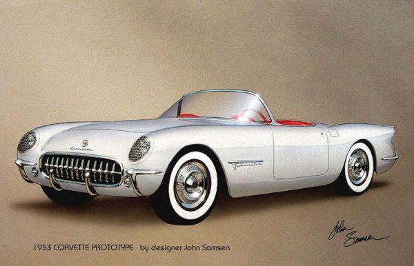 1953 Corvette Prototype
