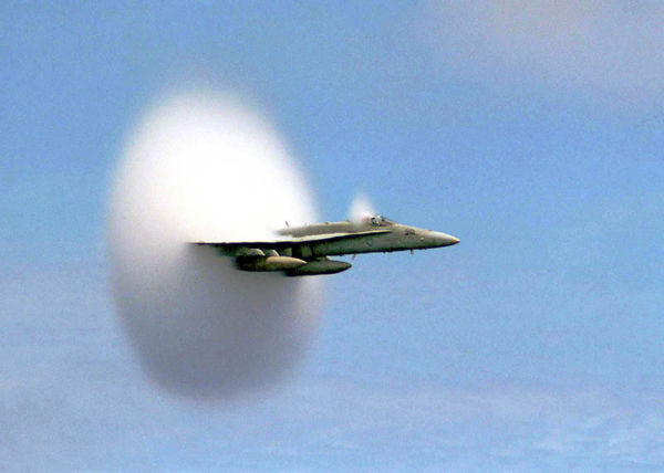 airplane-breaking-the-sound-barrier-perfect-timing