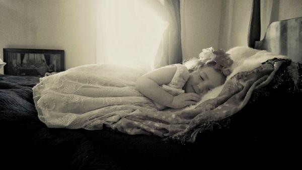Lilyana-Sleeping