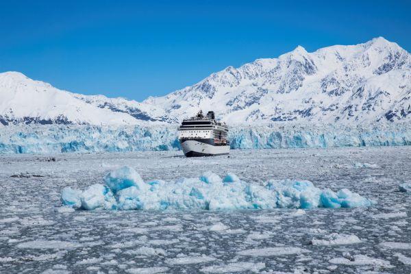 Millennium at Hubbard Glacier - Alaska Celebrity Solstice - Celebrity Cruises