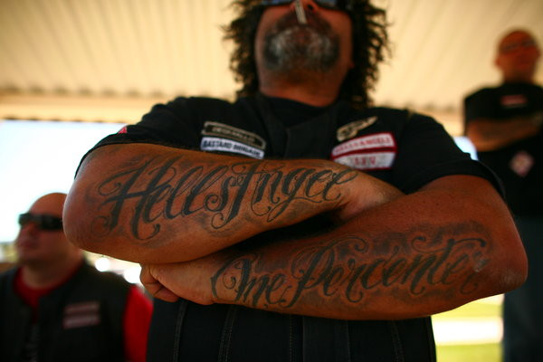Despite Outlaw Image, Hells Angels Sue Often