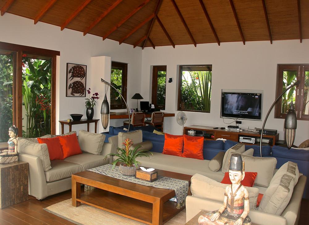 Living area - Baan Mika