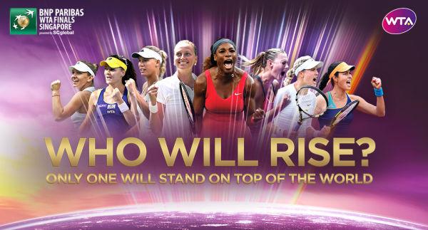 1 - WTA Finals - Final 8 Single Players