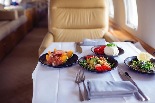 NOVIKOV - Private Jet menu 2