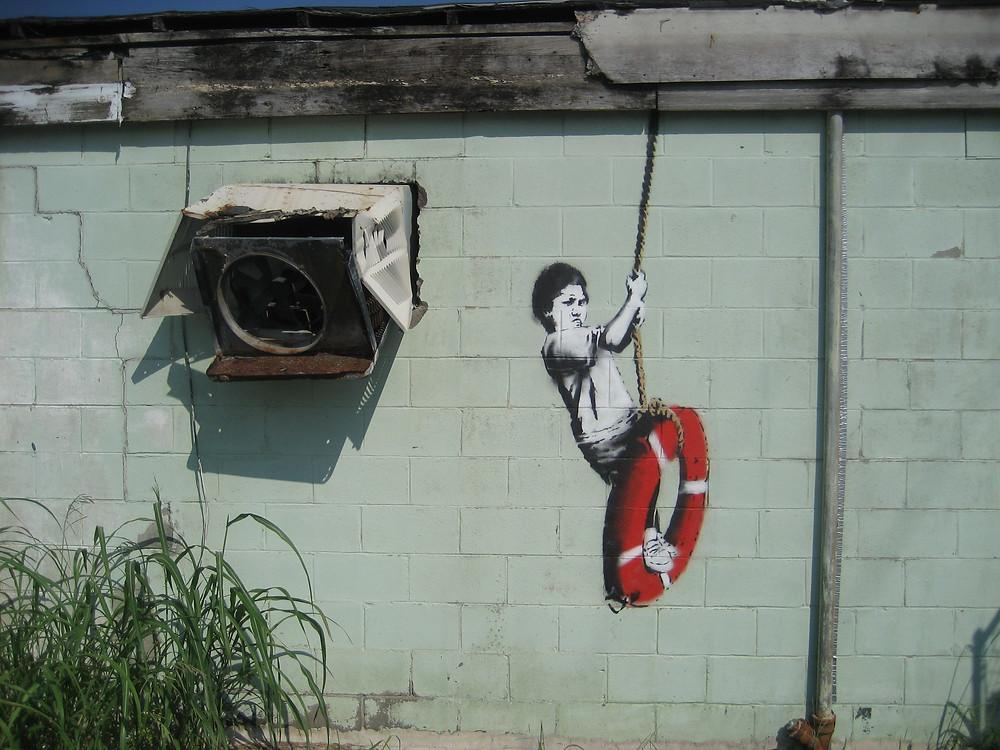 Banksy_Swinger_Building_Detail