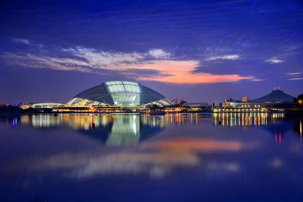 5 - Singapore Sports Hub Kallang Basin View