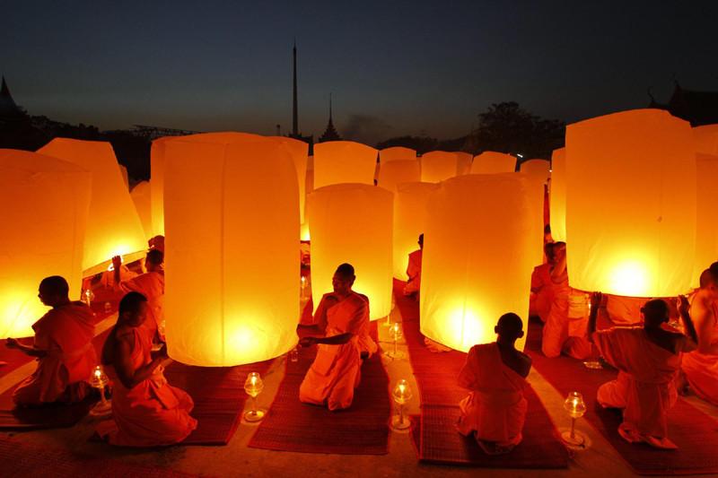 Buddhist Monks