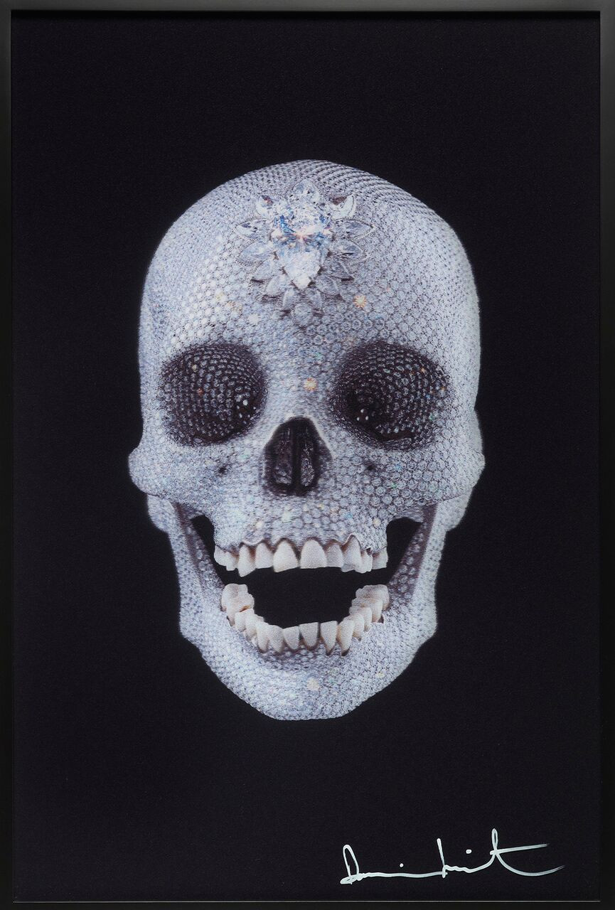 """For The Love of God"""" by Damien Hirst, Pop and C…e, Booth B02"""