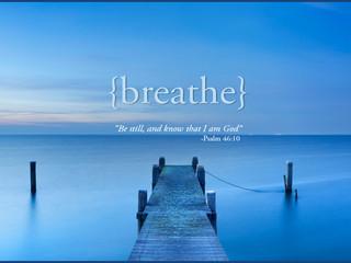 Be Still...