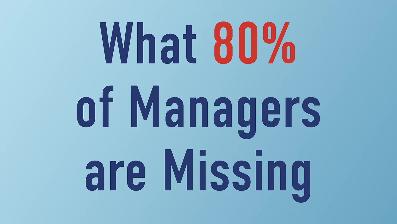 What 80% of Managers are Missing. A smart coaching language.