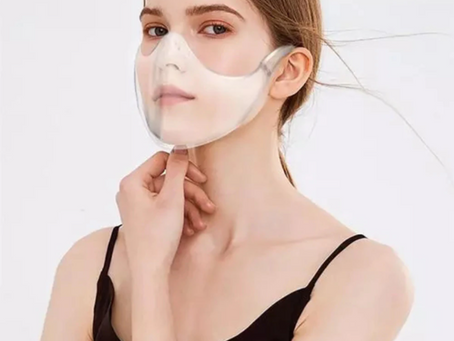 Clear Face Mask: new & improved design