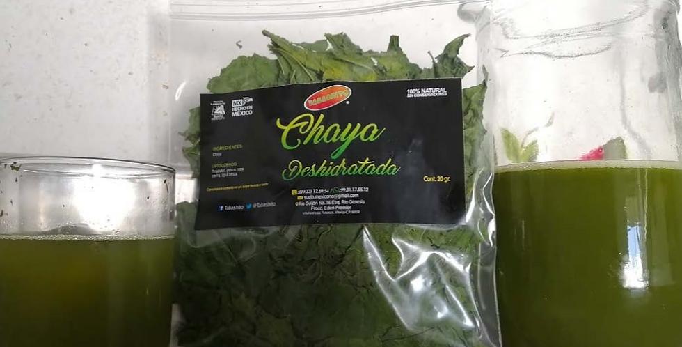 Chaya Deshidratada